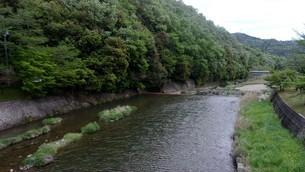 川の流れ(岡山県)の写真素材 [FYI01256258]