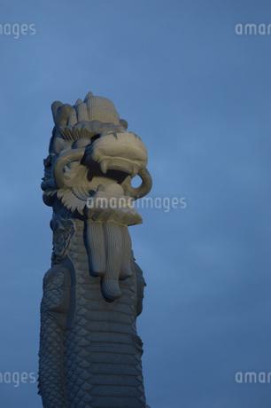 龍の柱の写真素材 [FYI01256529]