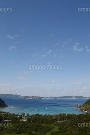 南国の海と空の写真素材 [FYI01256534]