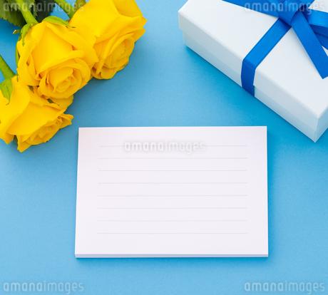 メッセージカードの写真素材 [FYI01256711]