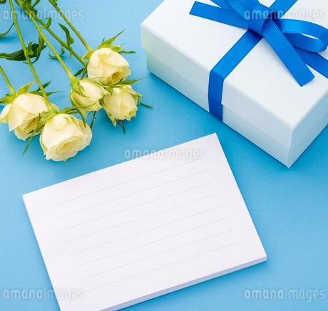 メッセージカードの写真素材 [FYI01256713]