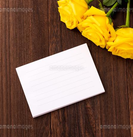 メッセージカードの写真素材 [FYI01256949]
