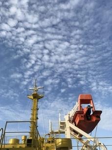 船と空の写真素材 [FYI01257119]
