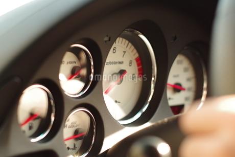 エンジンメーターの写真素材 [FYI01257253]