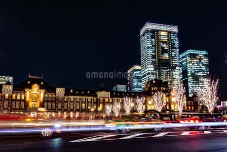 Illumination at Tokyo Stationの写真素材 [FYI01257316]