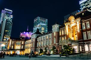 Illumination at Tokyo Stationの写真素材 [FYI01257320]