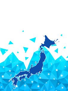 ビジネス背景 日本経済 ネットワーク ビッグデータ AI 経済 貿易 ビジネスイメージのイラスト素材 [FYI01257428]