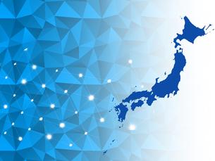 ビジネス背景 日本経済 ネットワーク ビッグデータ AI 経済 貿易 ビジネスイメージのイラスト素材 [FYI01257429]