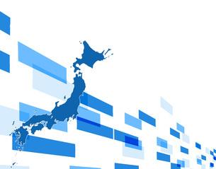 ビジネス背景 日本経済 ネットワーク ビッグデータ AI 経済 貿易 ビジネスイメージのイラスト素材 [FYI01257430]