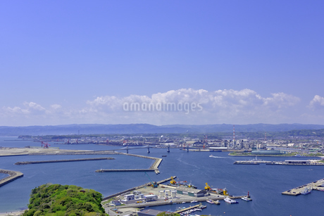 小名浜港遠望の写真素材 [FYI01257456]