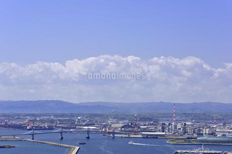 小名浜港遠望の写真素材 [FYI01257458]