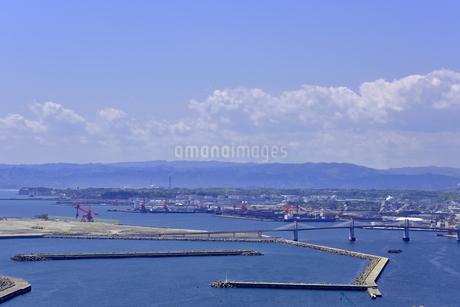 小名浜港遠望の写真素材 [FYI01257463]