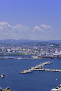 小名浜港遠望の写真素材 [FYI01257475]