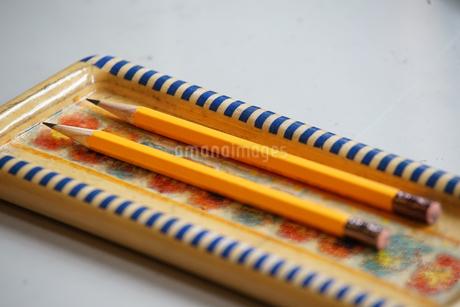 筆箱の鉛筆の写真素材 [FYI01257479]