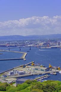 小名浜港遠望の写真素材 [FYI01257485]