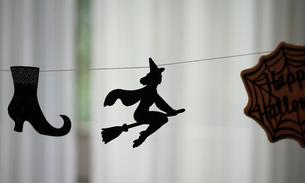 ハロウィンの飾りの写真素材 [FYI01257487]