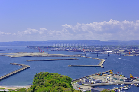 小名浜港遠望の写真素材 [FYI01257491]