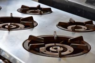 台所の調理器具の写真素材 [FYI01257551]