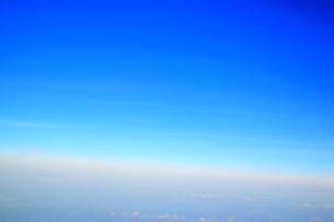 空の境界線の写真素材 [FYI01257607]