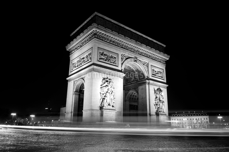Arc de Triompheの写真素材 [FYI01257710]