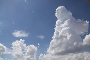青空に沸き立つ夏雲の写真素材 [FYI01257840]