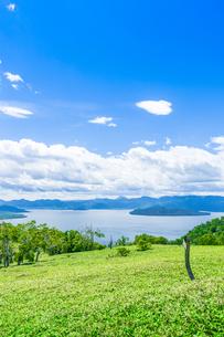 爽快 北海道 藻琴山展望台の写真素材 [FYI01258002]
