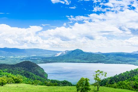爽快 北海道 藻琴山展望台の写真素材 [FYI01258009]