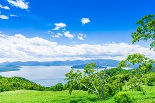 爽快 北海道 藻琴山展望台の写真素材 [FYI01258016]