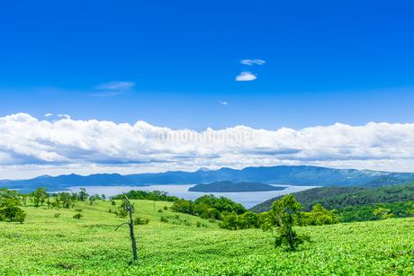 爽快 北海道 藻琴山展望台の写真素材 [FYI01258027]