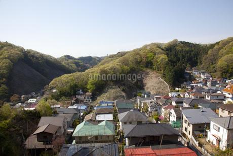 山のある町の写真素材 [FYI01258100]
