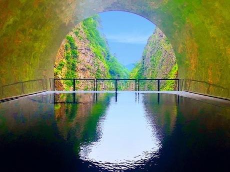 清津峡トンネルの写真素材 [FYI01258209]