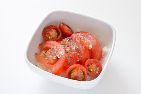 トマトマリネの写真素材 [FYI01258384]