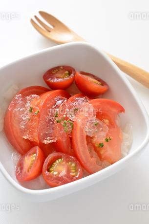 トマトマリネの写真素材 [FYI01258386]