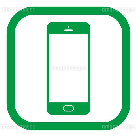 スマートフォンのイラスト素材 [FYI01258403]