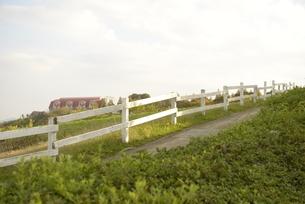 牧場風景の写真素材 [FYI01258436]