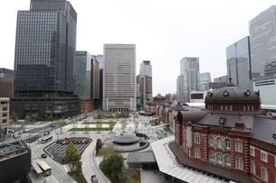 東京駅の写真素材 [FYI01258447]