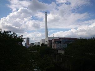 塔と雲の写真素材 [FYI01258502]