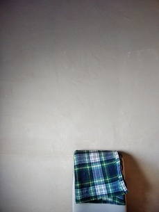 ブランケットとイスの写真素材 [FYI01258627]