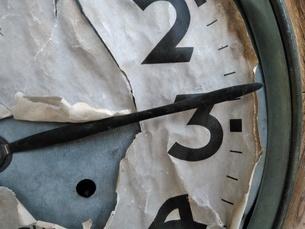 壊れた時計の写真素材 [FYI01258638]