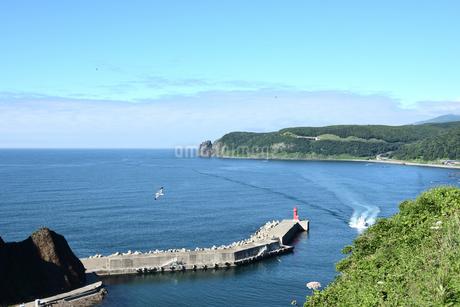 北海道 知床 斜里町ウトロ オロンコ岩より望むの写真素材 [FYI01258658]