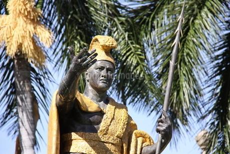 カメハメハ大王像の写真素材 [FYI01258807]