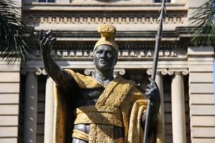 カメハメハ大王像の写真素材 [FYI01258814]