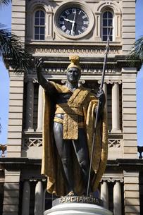 カメハメハ大王像の写真素材 [FYI01258818]
