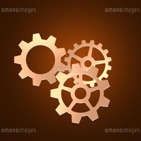 歯車 ギア 機械部品 工業 産業 金属 メタル 組織 ビジネスのイラスト素材 [FYI01258854]