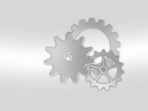 歯車 ギア 機械部品 工業 産業 金属 メタル 組織 ビジネスのイラスト素材 [FYI01258855]