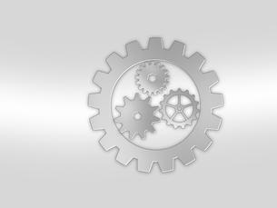 歯車 ギア 機械部品 工業 産業 金属 メタル 組織 ビジネスのイラスト素材 [FYI01258856]