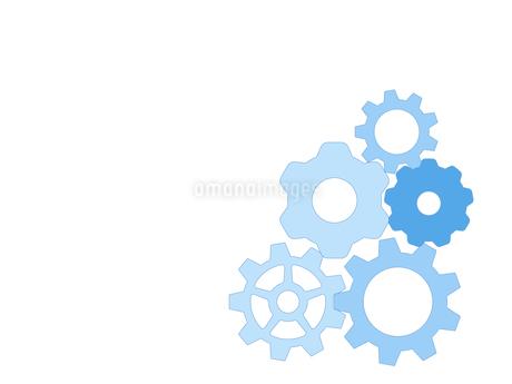 歯車 ギア 機械部品 工業 産業 金属 メタル 組織 ビジネスのイラスト素材 [FYI01258858]
