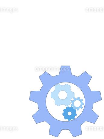 歯車 ギア 機械部品 工業 産業 金属 メタル 組織 ビジネスのイラスト素材 [FYI01258859]