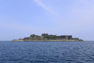軍艦島の写真素材 [FYI01258970]