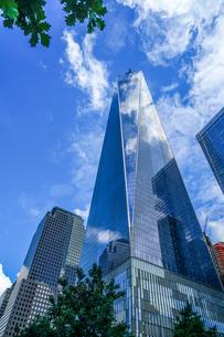 ワンワールドトレードセンター(ニューヨーク・マンハッタン)の写真素材 [FYI01259201]